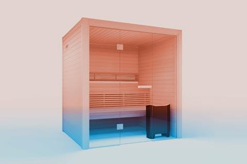 Sauna room ventilation